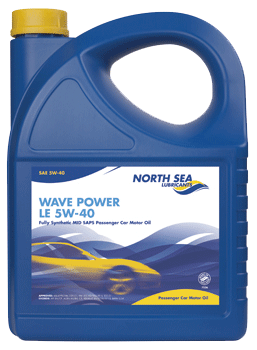 Моторные масла Wave power le 5W-40