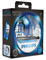 Галогенные лампы Лампа Philips H4 12V 60/55W P43t-38 ColorVision Blue SP 12342CVPBS2