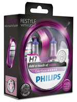 Галогенные лампы Лампа Philips H7 12V 55W PX26d ColorVision Purple SP 12972CVPPS2