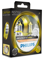 Галогенные лампы Лампа Philips H7 12V 55W PX26d ColorVision Yellow SP 12972CVPYS2