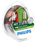 Галогенные лампы Лампа Philips H7 12V 55W PX26d Long Life EcoVision SP 12972LLECOS2