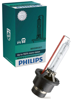 Ксеноновые лампы Лампа Philips D2S X-tremeVision gen2 plus 150 more vision 85122XV2C1