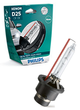 Ксеноновые лампы Лампа Philips D2S X-tremeVision gen2 plus 150 more vision 85122XV2S1