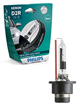 Ксеноновые лампы Лампа Philips D2R X-tremeVision gen2 plus 150 more vision 85126XV2S1