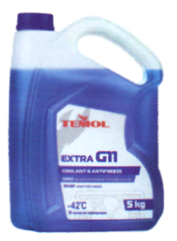 Антифризы Antifreeze extra G11 BLUE