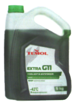 Антифризы Antifreeze extra G11 GREEN