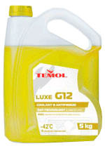 Антифризы Antifreeze luxe G12 YELLOW