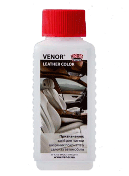 Автохимия в розницу Venor leather color 100ml